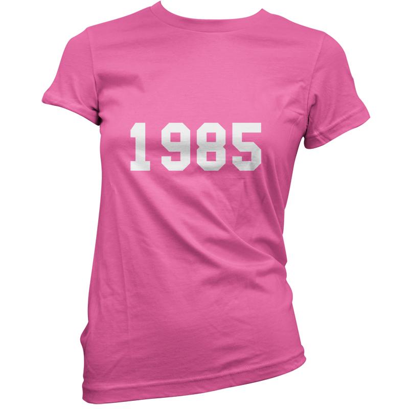 1984-Style-universite-Femmes-30eme-Cadeau-Anniversaire-T-Shirt-11-Couleurs