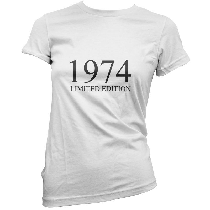 1974-Limited-Edition-Womens-42nd-Birthday-Present-Gift-T-Shirt-11-Colours