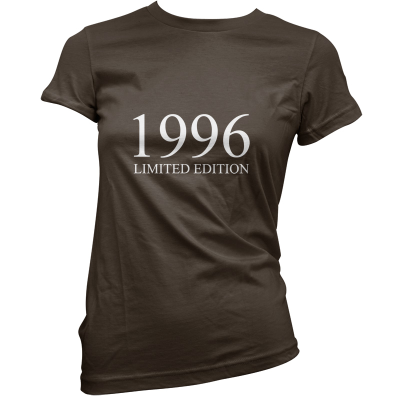 1996-Limited-Edition-Womens-18th-Birthday-Present-Gift-T-Shirt-11-Colours